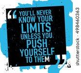 motivation concept  ... | Shutterstock .eps vector #498460363