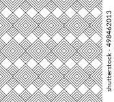 seamless pattern with geometric ... | Shutterstock .eps vector #498462013