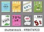 summer sale banner design...   Shutterstock .eps vector #498476923