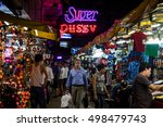 bangkok  thailand   october 11  ...   Shutterstock . vector #498479743