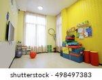 interior of a children room   Shutterstock . vector #498497383