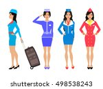 vector illustration set of... | Shutterstock .eps vector #498538243