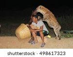 harar  ethiopia   circa... | Shutterstock . vector #498617323