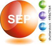 september | Shutterstock .eps vector #49867564