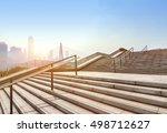 modern city building stairs | Shutterstock . vector #498712627