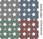 star style seamless pattern... | Shutterstock .eps vector #498728203