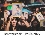 bangkok  thailand  october 14 ... | Shutterstock . vector #498802897