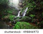 saithip waterfall in phu soi... | Shutterstock . vector #498846973