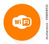 wifi  sign  | Shutterstock .eps vector #498898933