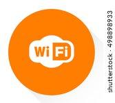 wifi  sign  | Shutterstock .eps vector #498898933