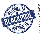 Welcome To Blackpool Stamp.