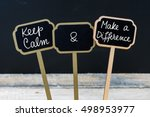 Keep Calm And Make A Differenc...