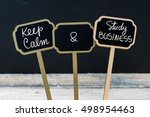 Keep Calm And Study Business...