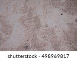 cement floor texture background | Shutterstock . vector #498969817