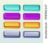 colors push buttons for a game... | Shutterstock . vector #498982147