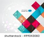abstract vector design eps 10 | Shutterstock .eps vector #499043083