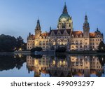 Stock photo hannover s city hall 499093297