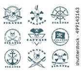 pirate logos | Shutterstock .eps vector #499143163