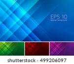 vector diagonal and stripes... | Shutterstock .eps vector #499206097