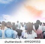 worship | Shutterstock . vector #499209553