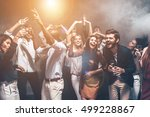 fun is all they need tonight.... | Shutterstock . vector #499228867