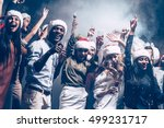 new year party with best... | Shutterstock . vector #499231717
