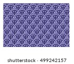triquetra symbol abstract... | Shutterstock .eps vector #499242157