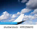 Aircraft Flying In Blue Sky...
