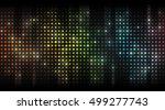 abstract spectrum vector... | Shutterstock .eps vector #499277743