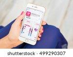 riga  latvia   september 8 ... | Shutterstock . vector #499290307