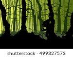 vector illustration of a... | Shutterstock .eps vector #499327573