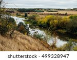 Meandering River View In Lush...