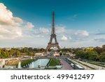 the eiffel tower | Shutterstock . vector #499412497