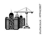 construction icon | Shutterstock . vector #499463887