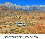 alabama hills  lone pine  usa  | Shutterstock . vector #499532473