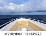 front of speed boats running in ... | Shutterstock . vector #499534327