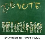 election day   Shutterstock . vector #499544227
