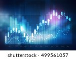 forex trading background | Shutterstock . vector #499561057
