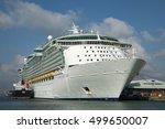 city cruise terminal... | Shutterstock . vector #499650007