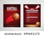 basketball tournament  modern... | Shutterstock .eps vector #499691173
