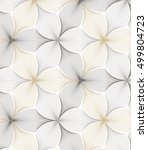 flower pattern vector ... | Shutterstock .eps vector #499804723