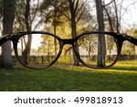 clear vision forest | Shutterstock . vector #499818913