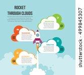 vector infographic design... | Shutterstock .eps vector #499845307
