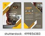 template diagonal lines... | Shutterstock .eps vector #499856383