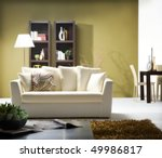 modern living room | Shutterstock . vector #49986817