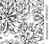 seamless pattern with image of... | Shutterstock .eps vector #499876027