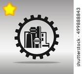 black factory icon button logo...