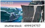 the pulpit rock in norway....   Shutterstock .eps vector #499929757