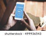 e commerce online payment... | Shutterstock . vector #499936543