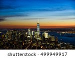 new york city  nov 27 2014 ... | Shutterstock . vector #499949917